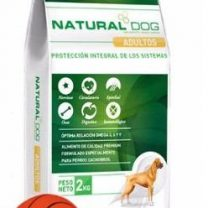 NATURAL DOG ADULTOS 22 KG + SNACKS + PELOTA DE REGALO!!!