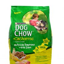 DOG CHOW CACHORROS 21+3 KG + SNACKS + PLATO DE REGALO!!