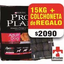 PRO PLAN ADULTO 15 KG +1 COLCHONETA DE OBSEQUIO $2090