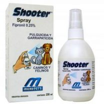 Shooter spray pulguicida y garrapaticida