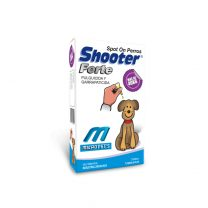 Pipeta shooter forte pulguicida y garrapaticida +40 kg