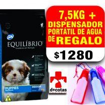 Equilibrio cachorro raza pequeña 7.5 kg + 1 bebedero portátil de regalo!! $1280