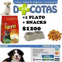 NERO ADULTOS 20+2 KG + SNACKS + 1 PLATO DOBLE DE REGALO!! $1200 ENVIO GRATIS TODO MONTEVIDEO !!