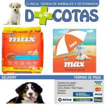 MAX CACHORROS 20+2 KG + 1 SOMBRILLA DE REGALO!! $1850 ENVIO GRATIS