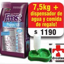 Frost Cachorro raza pequeña 7.5 Kg + 1 dispensador de agua y comida de regalo 🎁 $1190 Envió gratis todo Montevideo!!
