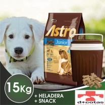 ASTRO CACHORRO 15 KG + HELADERA CONSERVADORA DE REGALO!! $1400